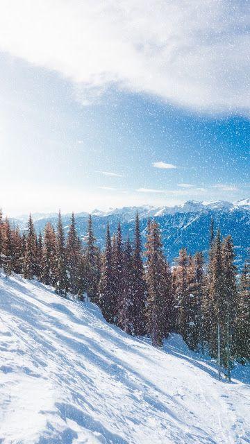 Snow Wallpaper 4k Iphone Winter 2020 In 2019 Mountain