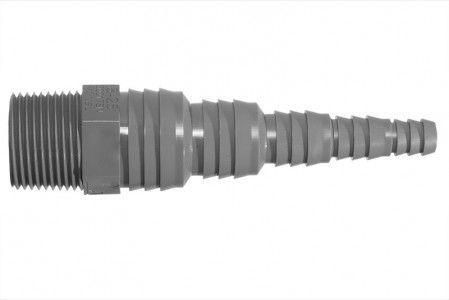 Airfit Pumpennippel Universal 3 4 Zoll Ag X 25 8 Mm Pvc Zoll