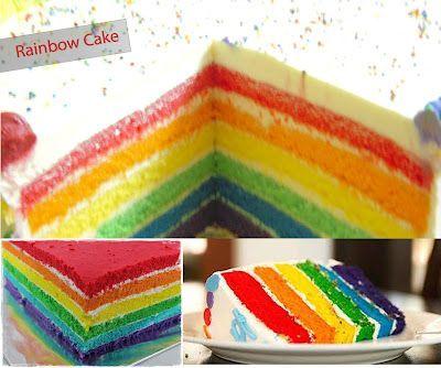 Resep Rainbow Cake Kukus Ny Liem Oleh Sasha Resep Kue Pelangi Resep Kue