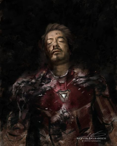 Hauntingly Beautiful Avengers: Endgame Portraits Created By Digital Artist