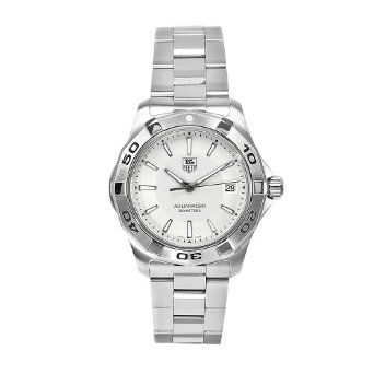 Shop Now for TAG Heuer Men's WAP1111.BA0831 Aquaracer Silver Dial Watch it is only $1,174.93 Wow. Best buy now you can see for more detail here.
