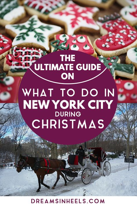 Tips from a New Yorker: Best Christmas Markets in New York City 2019 and Top Things to do during Christmas in NYC!