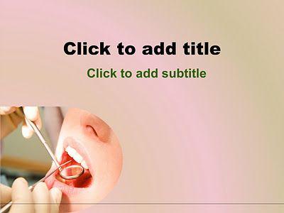 Dental Powerpoint Template Free Download Dental Powerpoint