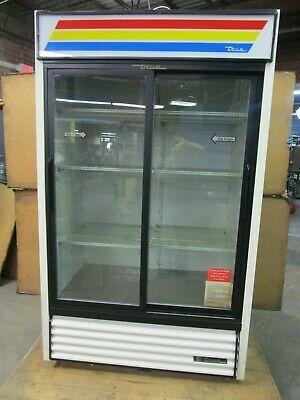 Ad Ebay Url True Gdm 41 1 2hp 2 Door Glass Front Refrigerator Cooler 115v 1ph R134a Glass Front Refrigerator Refrigerator Cooler Display Refrigerator