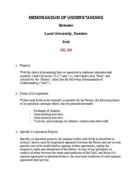 50 Free Memorandum Of Understanding Templates Word Template Lab Memorandum Templates Personal Financial Statement