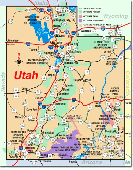 Road Trip Car Games Utah Map Kids Trip Idea My Collection Of - Us national parks road trip map