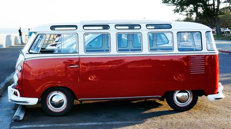 Vw Samba With Barn Door 23 Windows And Open Top Automobiles
