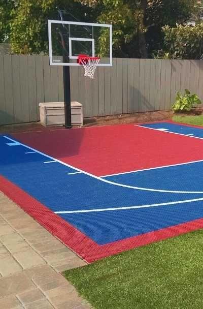 27 Outdoor Home Basketball Court Ideas Basketball Court Backyard Home Basketball Court Backyard Court