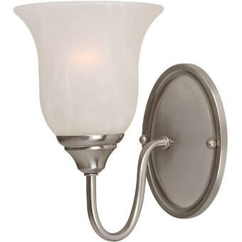 Donovan 1 Light Dimmable Armed Sconce Wall Lights Wall Sconce Lighting Bath Light Fixtures