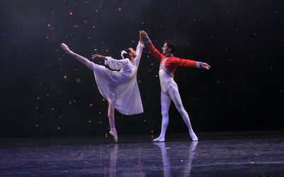 A Brief Synopsis Of Tchaikovsky S Nutcracker Ballet Ballet Ballet Drawings Ballet Photography