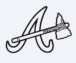 Atlanta Braves Stencil Google Search Atlanta Braves Braves Stencils