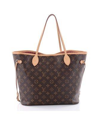 Louis Vuitton Pre Owned Monogram Croissant Mm In Brown Modesens Louis Vuitton Vuitton Louis