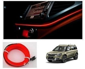 Skoda Yeti Car Dashboard 5m Car Interior Light Red Car Interior