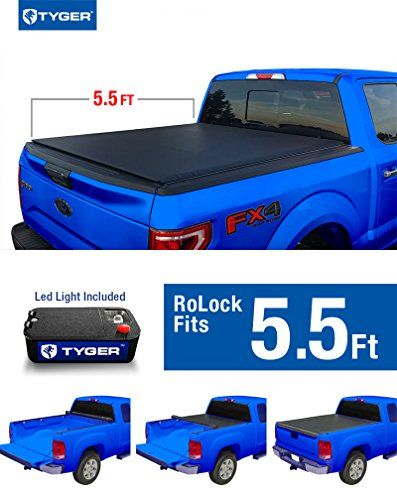 Tyger Auto Tgbc2f2076 Rolock Low Profile Rollup Truck Bed Tonneau Cover For 20092014 Ford F150 55 Bed Only Exclude Raptor Ser Tonneau Cover Truck Bed Ford F150