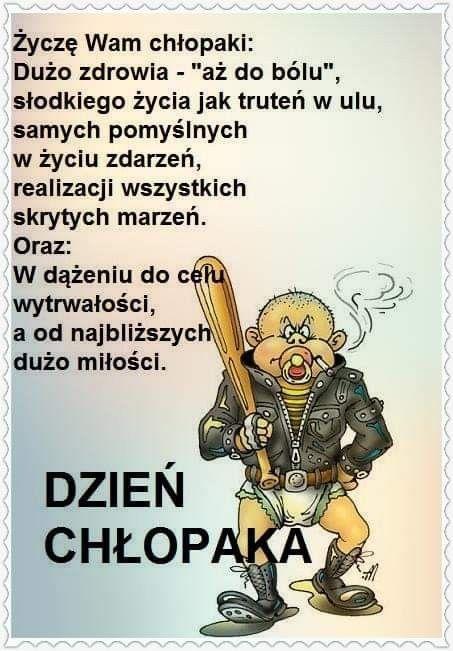 Pin Na Dzien Chlopaka