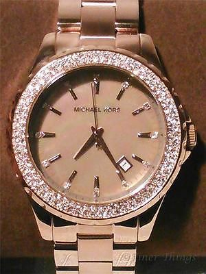 Michael Kors Special Edition Gold Tone Analog Watch Size 6 Used for sale online
