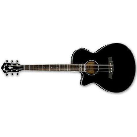 Ibanez Lefty Cutaway Acoustic Electric Guitar Black Instrumentstogo Com Guitar Acoustic Electric Guitar Electric Guitar