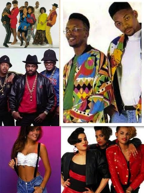 The 1990s introduced hip hop's love for bright colours and loud prints with actors like Will Smith wearing the style on his hit TV programme The Fresh Prince of Bel Air. Description from macsmagazine.com. I searched for this on bing.com/images