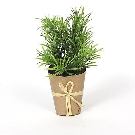 Mini - Plantes artificielles, Déco-Toute la déco Mini plante artificielle en pot
