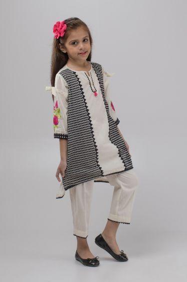 Check Mate Khaadi Pk Kids Designer Dresses Kids Outfits Kids Fashion Dress