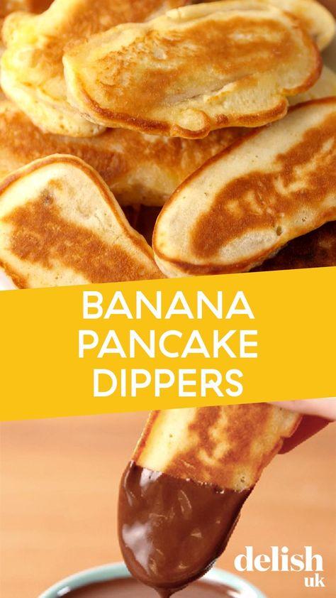 Banana Pancake Dippers Recipe