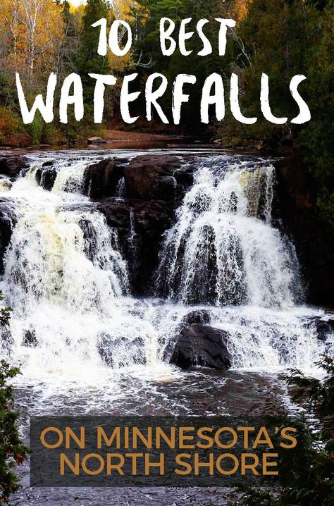Here is a guide to 10 waterfalls you should be sure to see when visiting the NORTH SHORE of Lake Superior in Minnesota. Weekend Trips, Day Trips, Weekend Getaways, Duluth Minnesota, Whitewater Kayaking, Canoeing, Canoe Trip, Us National Parks, Lake Superior