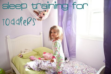 Sleep training for toddlers. Amen to that....some people need to lay down the law. Can't wait to try this and keep the peace