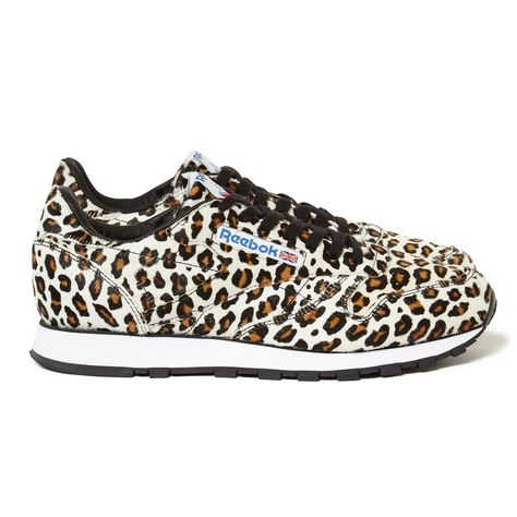 Reebok Classic Leather Head Porter leopard 80s old school sneakers vintage  shoes 55481708a