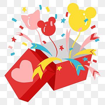 Gambar Tangan Dicat Perayaan Balon Kotak Hadiah Unsur Unsur Ilustrasi Belon Perayaan Belon Reben Berwarna Png Dan Psd Untuk Muat Turun Percuma Balloon Ribbon Balloons Gift Box