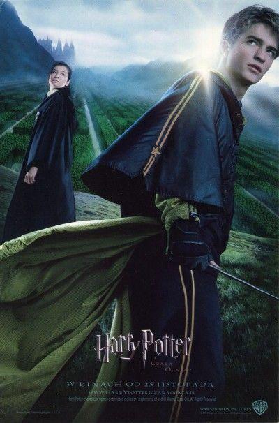 Harry Potter I Czara Ognia Ulotki Filmowe Movie Flyers Ulotki Filmowe Movie Flyers Harry Potter Films Harry Potter Movie Posters Goblet Of Fire