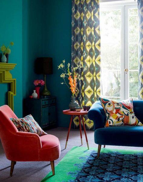Quelle Couleur Associer Au Bleu Petrole Dans L Interieur Deco