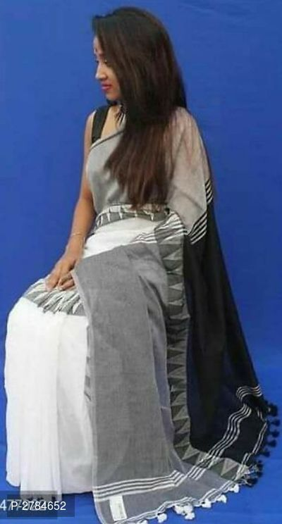 Handloom Soft Cotton Madhyamani Sarees With Running Blouse Piece Saree Blouse Piece Handloom