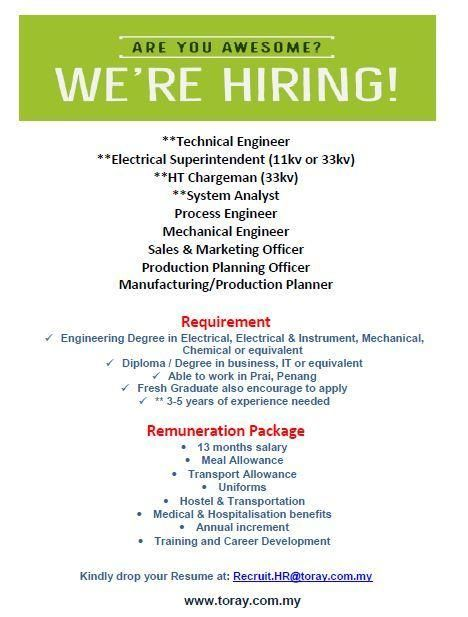 Image Result For Process Engineer And Hr Manager Fresh Graduate Jobs Process Engineering Graduate Jobs Hr Management