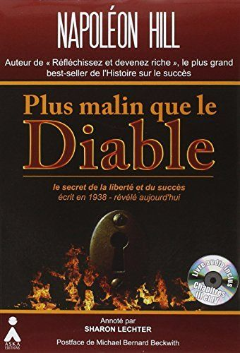 Plus Malin Que Le Diable 1cd Audio Inclus Dans Le Livre Napoleon Hill Napoleon Audio