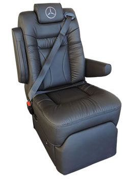 Sprinter Integraded Seat Belt Seats Reclining Captains Chairs