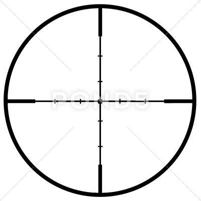 Sniper Scope Crosshair 2 Stock Illustration Ad Scope Sniper Crosshair Illustration Sniper Stock Illustration Scope