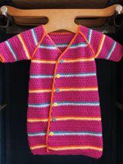 Baby Sack--free crochet pattern
