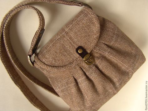 9b21d774fe1f Купить Маленькая сумка из шерсти - бежевый, женская сумка, сумка из шерсти,  маленькая сумочка