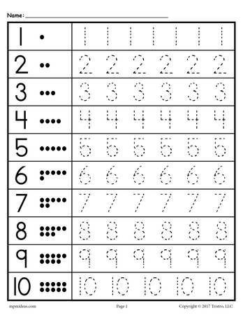 Trend Enterprises Numbers 1-100 Learning Chart | Numbers ...