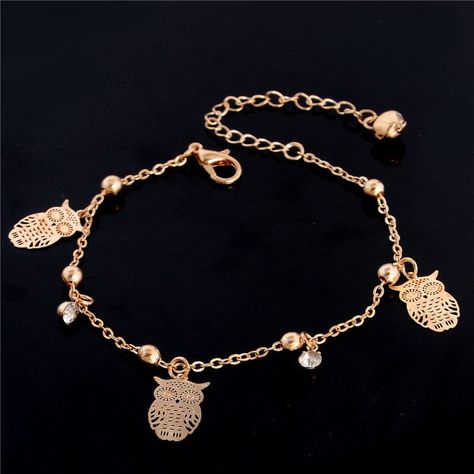 Owl Anklet Jewelry Ankle