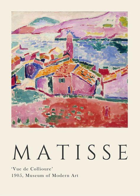 Art And Illustration, Food Illustrations, Art Exhibition Posters, Poster Prints, Art Prints, Henri Matisse, Museum Of Modern Art, Grafik Design, Oeuvre D'art