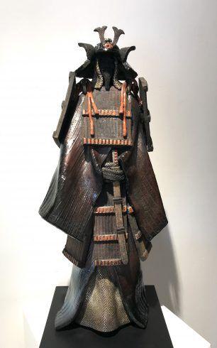 Paul Beckrich Ceramique Galerie Rikia Ferrergalerie Rikia Ferrer Ceramique Samourai Japonais Armure Samourai