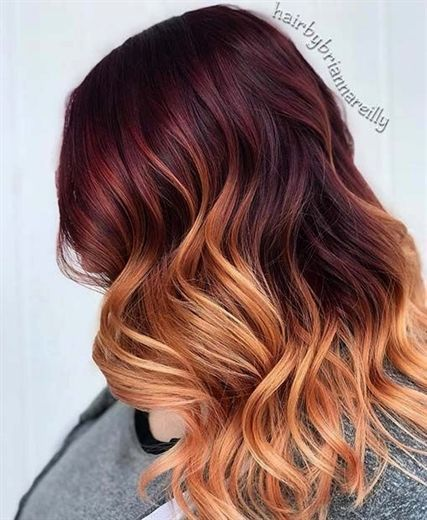 Burgundy To Strawberry Blonde Ombre Hair Blondeombre Blonde Blondeombre Burgundy H Strawberry Blonde Hair Color Ombre Hair Blonde Strawberry Blonde Hair