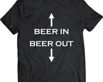Get the Beers In Pub Drink Funny Slogan T-Shirt Present Mens Gift cotton Black