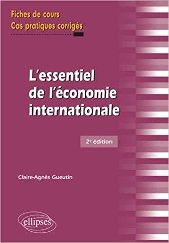 Epingle Par Joseph Ferdinand Sur Economie Gestion Economie Internationale Marche Financier Economie Gestion