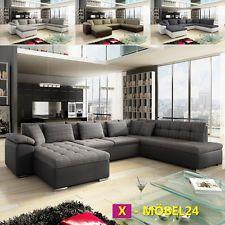 Moderne eckcouch mit schlaffunktion  Sofa Couchgarnitur Couch Sofagarnitur SANTORINI 3 Wohnlandschaft ...