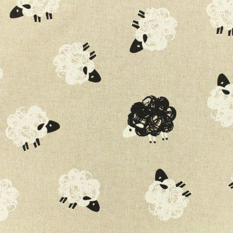 Blanc Avec Noir Squelette Enfants Imprimé En Polycoton Tissu//Matière 1 Full mètre