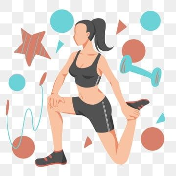 Fitness Exercise Illustration Exercise Clipart Exercise Girl Cartoon Illustration Png Transparent Clipart Image And Psd File For Free Download Clip Art Cartoon Illustration Exercise