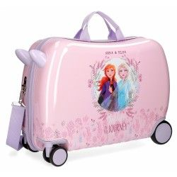 Maleta Infantil Frozen 2 Con Ruedas Multidireccionales Pink Laptop Frozen Toys Disney Merchandise
