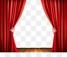 Download Transparent Red Curtain Png Clipart 947829 Png Red Curtains Curtains Vector Curtains